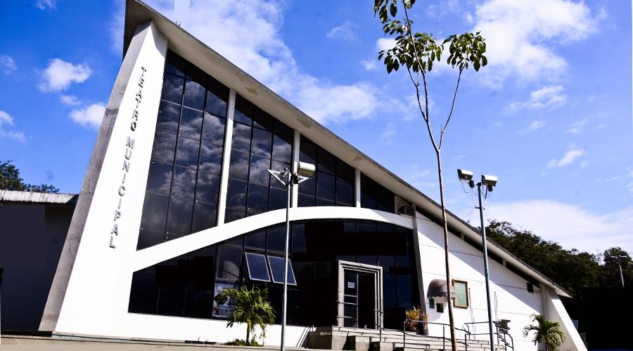 Teatro de Vila Velha, localizado na praça Duque de Caxias, no Centro. Crédito: Felix Falcão/PMVV