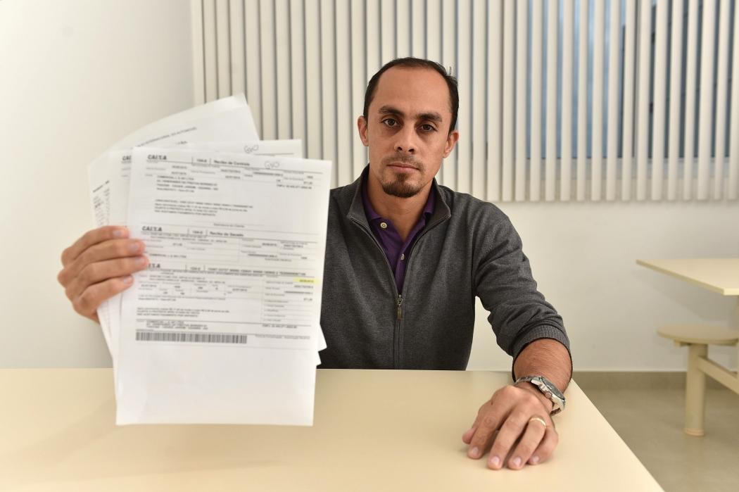 Wellison de Castro Temido parou de pagar o Fies quando ficou desempregado. Crédito: Fernando Madeira