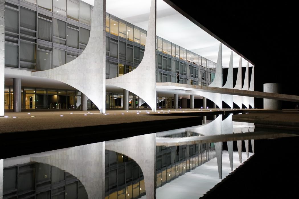 O Palácio do Planalto, sede do governo federal. Crédito: Beto Barata/PR