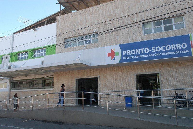 Hospital Antônio Bezerra de Faria. Crédito: Vitor Jubini