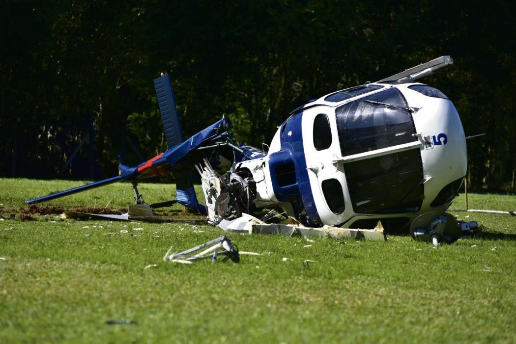 Modelo utilizado pelo governador no último dia 10, dia do acidente, era um AS 350 B2. Crédito: Marcelo Prest