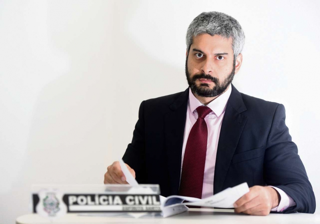 Delegado Breno Andrade indiciou o assessor. Crédito: Carlos Alberto Silva | GZ