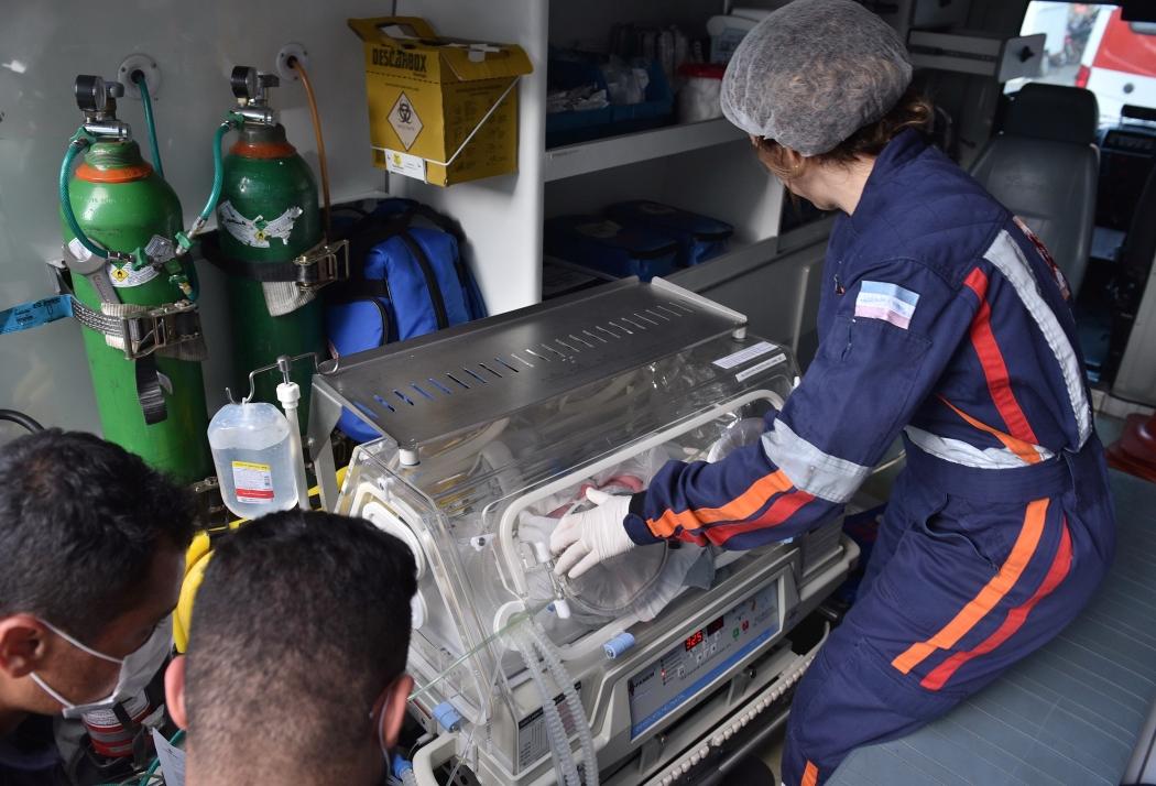 Parto de emergência de Laura aconteceu na última quarta em Vitória. Crédito: Fernando Madeira | GZ