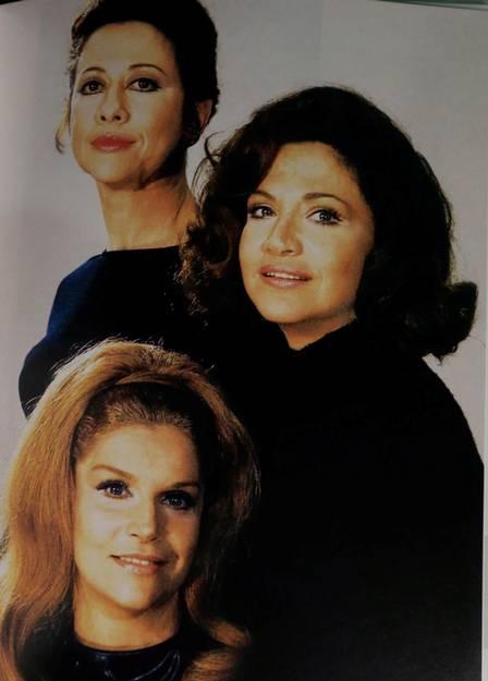 Encontro de divas: Fernanda Montenegro, Nathália Timberg e Tonia Carrero. Crédito: Reprodução