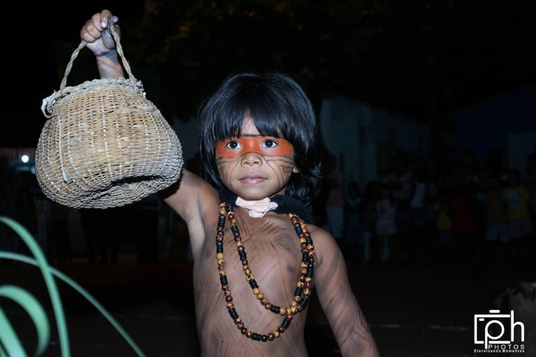 Tribo indígena Tupiniquim em Aracruz. Crédito: Pietro Ferraz