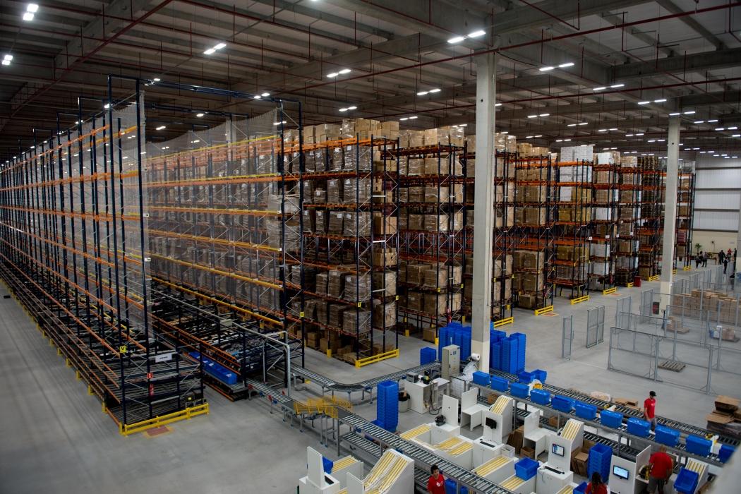 Centro de Distribuição da Belliz, na Serra. Crédito: Mônica Zorzanelli