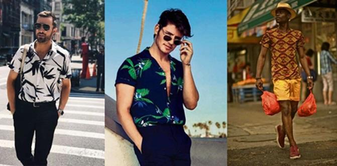 A estampa é o novo hit das camisetas masculinas . Crédito: Divulgação (Pinterest)