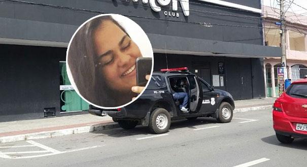 Thalita do Carmo, 19, morreu após disparo de policial em boate da Serra. Crédito: Internauta | Gazeta Online
