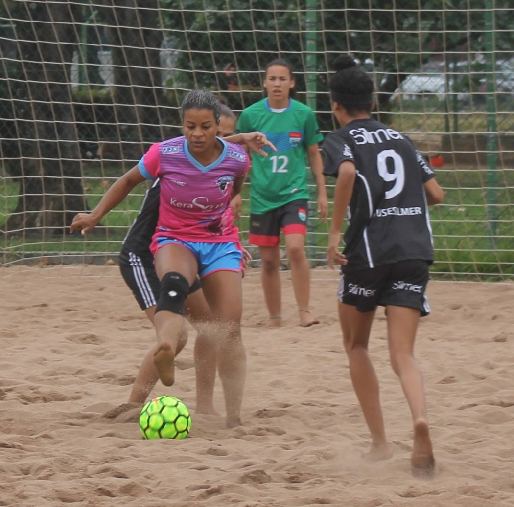 Silvana, jogadora do time São Pedro . Crédito: Peter Falcão/Pauta Livre