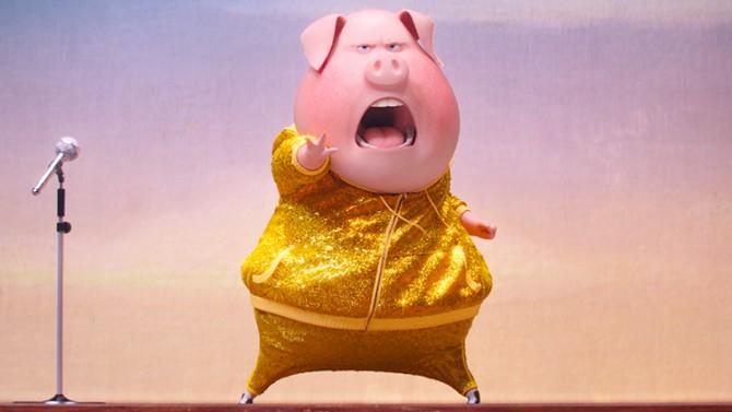 Sing - Quem Canta Seus Males Espanta. Crédito:  UNIVERSAL PICTURES
