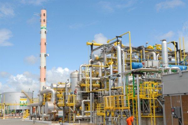 Unidade do gasoduto Cacimbas - Catu. Crédito: Gildo Loyola / Arquivo