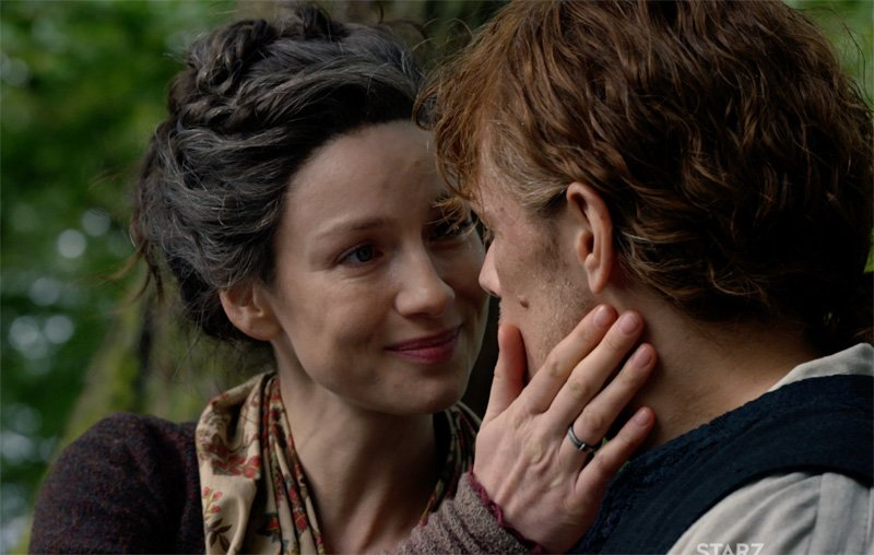 Cena da 4ª temporada da série Outlander. Crédito: Reprodução
