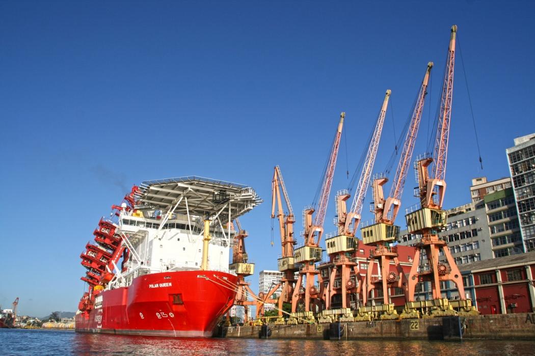 A Codesa é responsável pelo Porto de Vitória, principal terminal marítimo da Capital. Crédito: Marcelo Prest