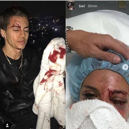 Ex de Biel, Duda Castro é acusada de agredir amiga do funkeiro com garrafa. Crédito: Reprodução/Instagram