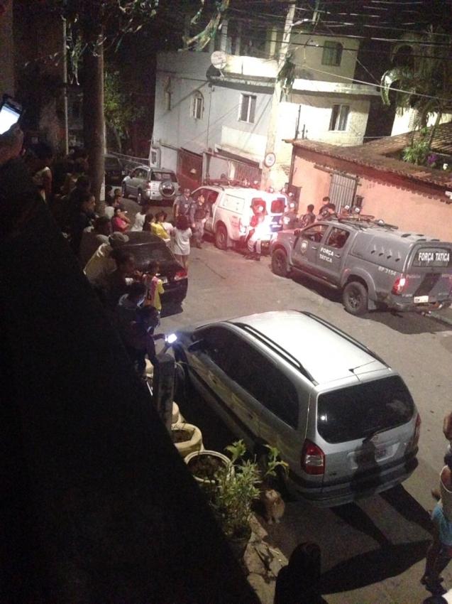 Morte na noite desta segunda-feira (3) em Consolação. Crédito: Gazeta Online