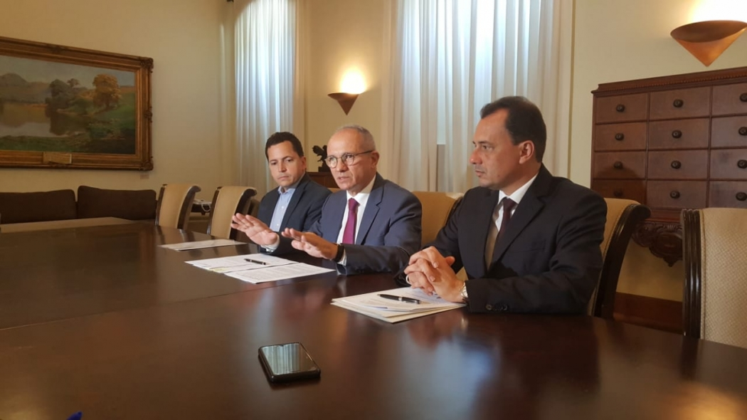 Governador anuncia mais investimentos no Estado. Crédito: Rafael Silva