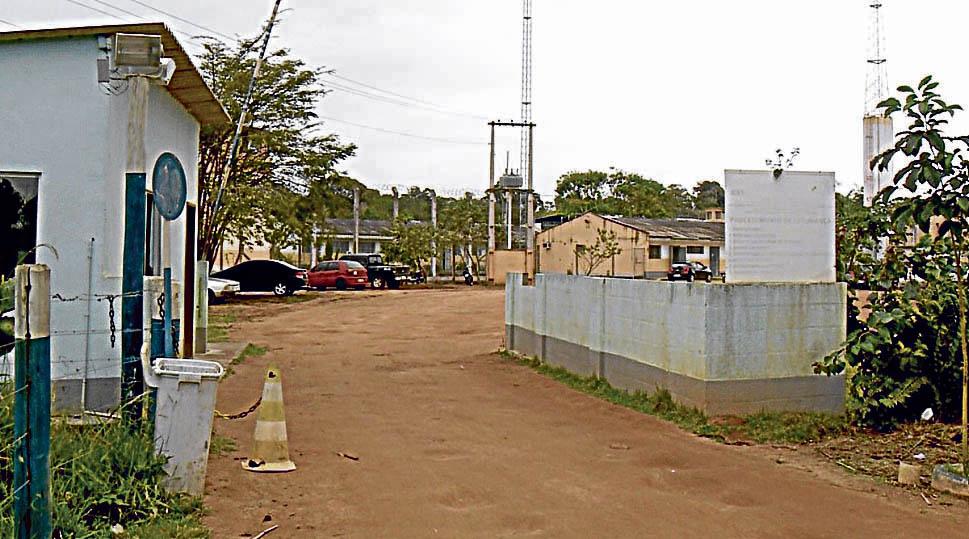 Entrada do complexo Uninorte, de onde menores estão sendo liberados por causa da superlotação. Crédito: TV Gazeta Norte
