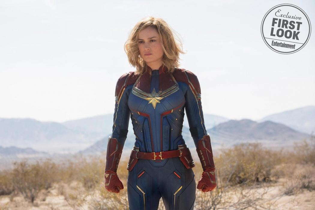"""""""Capitã Marvel"""" estreia em 7 de março. Crédito: Entertainment Weekly"""