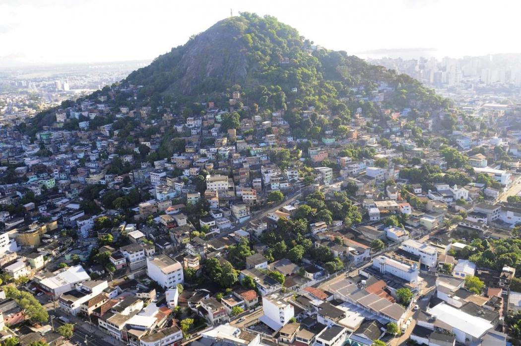 Morro da Penha em Vitória, onde também há ação do PCV