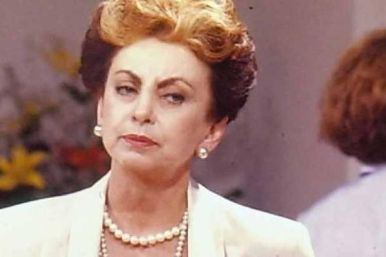 """Odete Roitman, em """"Vale Tudo"""": personagem foi interpretada por Beatriz Segall. Crédito: Reprodução/TV Globo"""