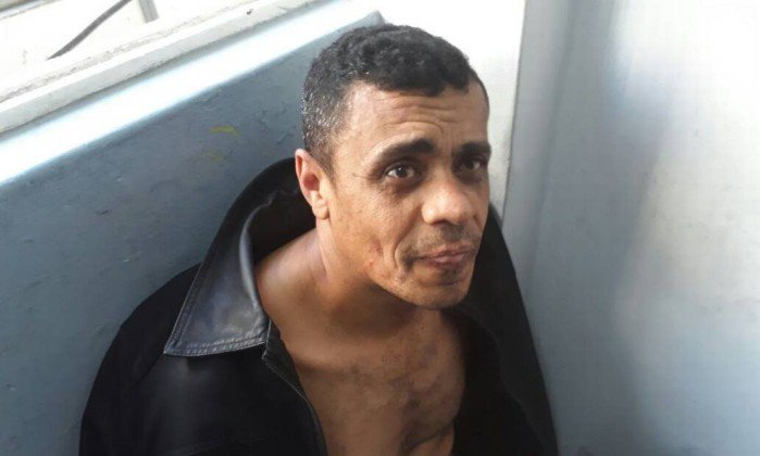 Suposto autor do ataque a facada em Bolsonaro. Crédito: Reprodução