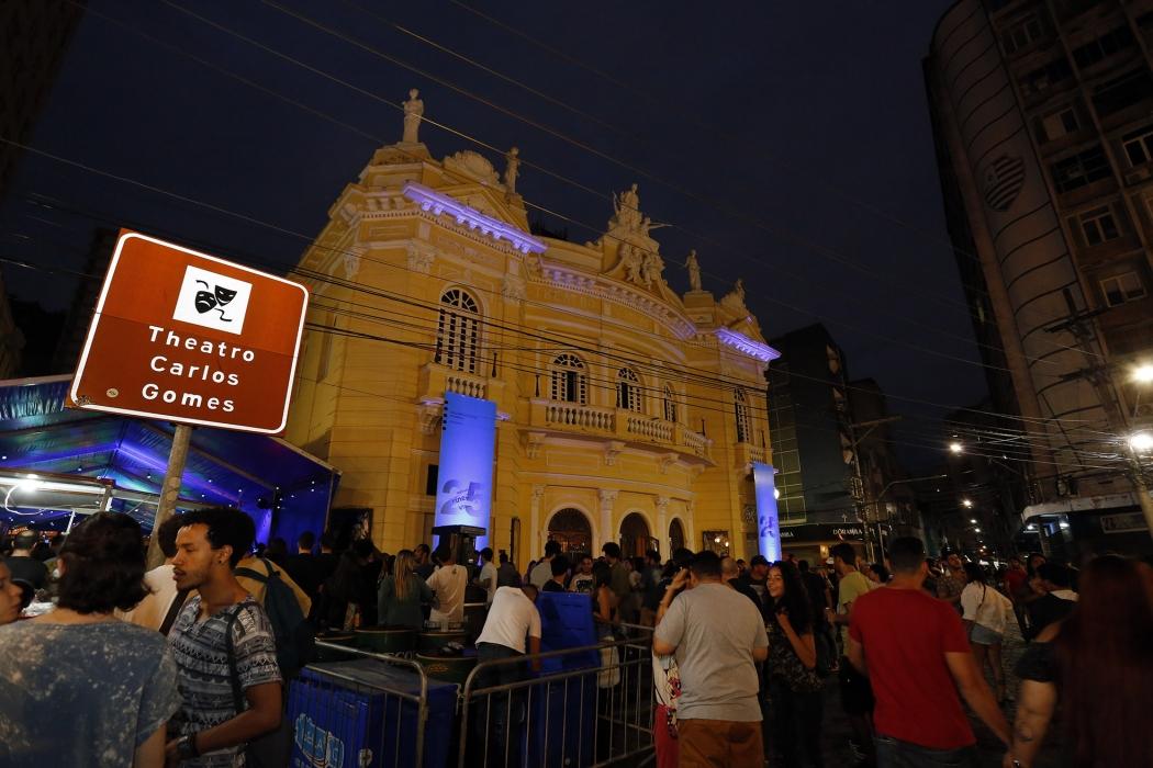 5ª noite do Festival de Cinema de Vitória. Crédito: Sérgio Cardoso / Divulgação