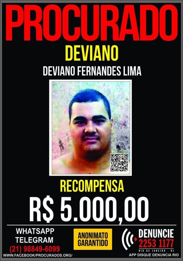 Deviano Fernandes Lima, 28 anos, foi preso na Bahia após estadia no Espírito Santo. Crédito: Divulgação