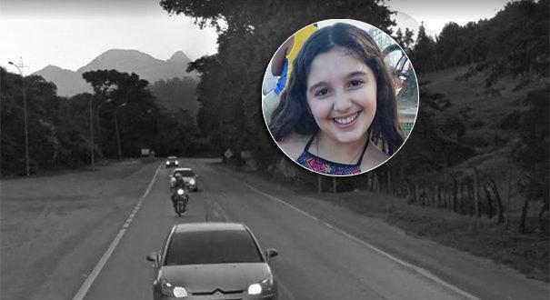 Menina morre em acidente na BR 101 em Iconha. Crédito: Reprodução