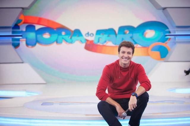 11/09/2018 - O apresentador Rodrigo Faro. Crédito: Divulgação/Record