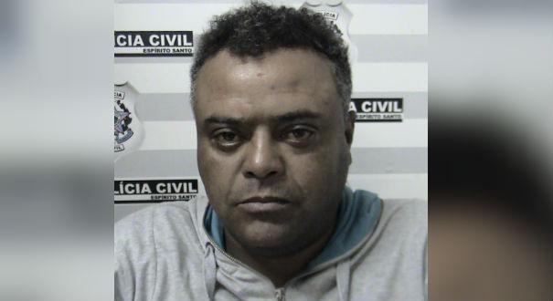 André Luiz dos Santos ateou fogo na ex-mulher, uma diarista de 36 anos. Crédito: Divulgação | Polícia Civil