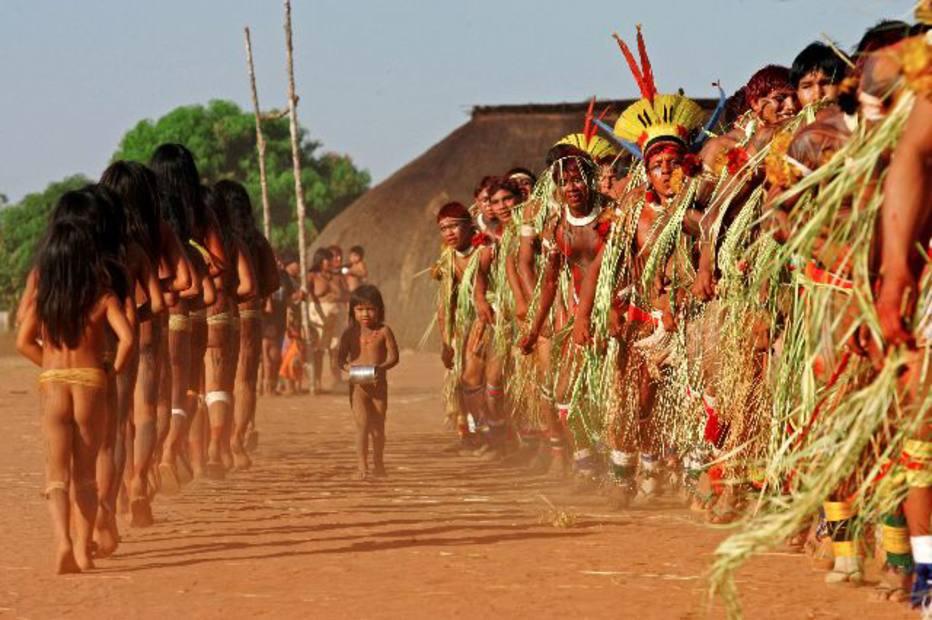 """De acordo com o Conselho Indigenista Missionário houve uma """"profunda extinção"""" dos povos indígenas no último século   . Crédito: Thiago Queiroz/Estadão"""