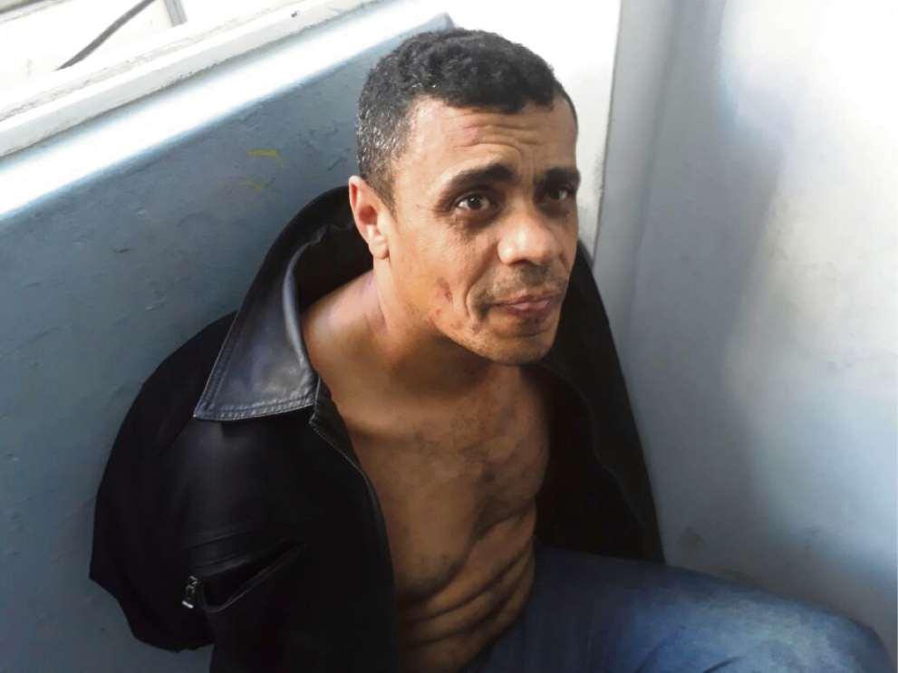 Adélio Bispo foi preso acusado de esfaquear Bolsonaro. Crédito: Reprodução de TV