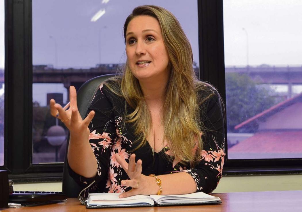 Simone Velten diz que, se providências não forem adotadas, situação será de colapso. Crédito: ASCOM TCES/Divulgação