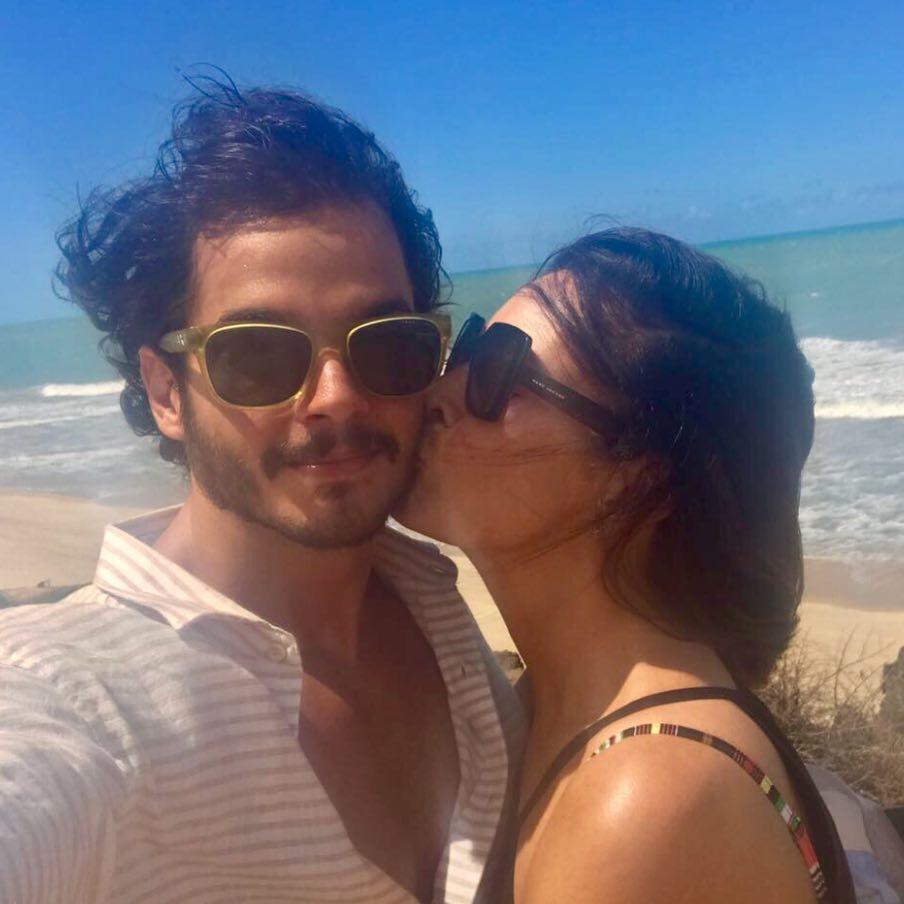 Túlio Gadêlha e a namorada, Fátima Bernardes. Crédito: Reprodução/Instagram @fatimabernardes
