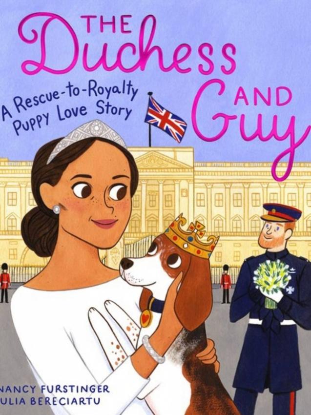 The Duchess and Guy: A Rescue-to-Royalty Puppy Love Story, livro de ilustrações sobre cão de Meghan Markle. Crédito: Divulgação