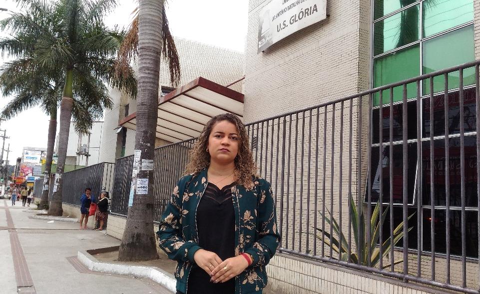 Geceara Miranda cobra propostas para resolver problemas no serviço básico de saúde. Crédito: Viviane Machado