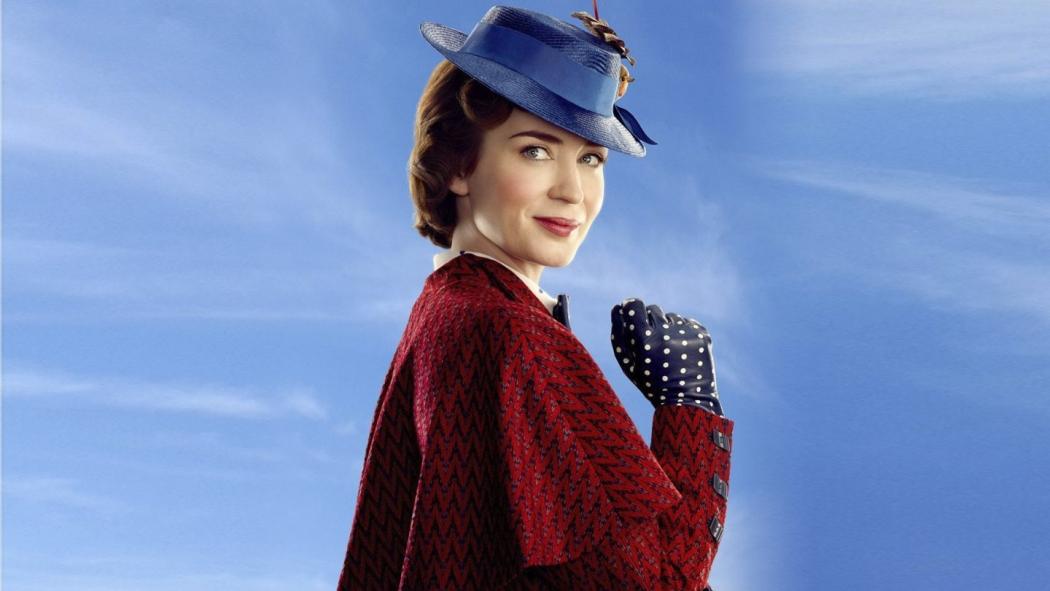 18/09/2018 - O Retorno de Mary Poppins terá Emily Blunt no papel da babá mágica. Crédito: Divulgação