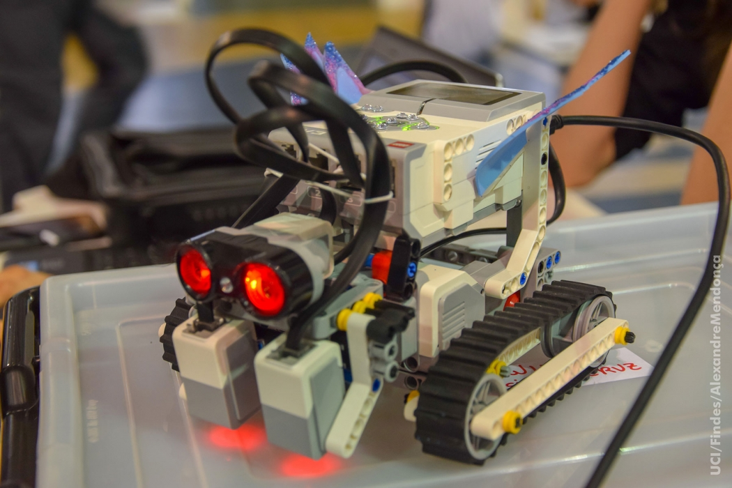 Torneio de Robotica. Crédito: Alexandre Mendonca