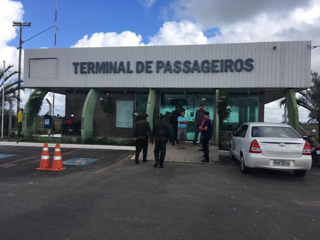 Atual terminal do Aeroporto de Linhares. Crédito: Loreta Fagionato