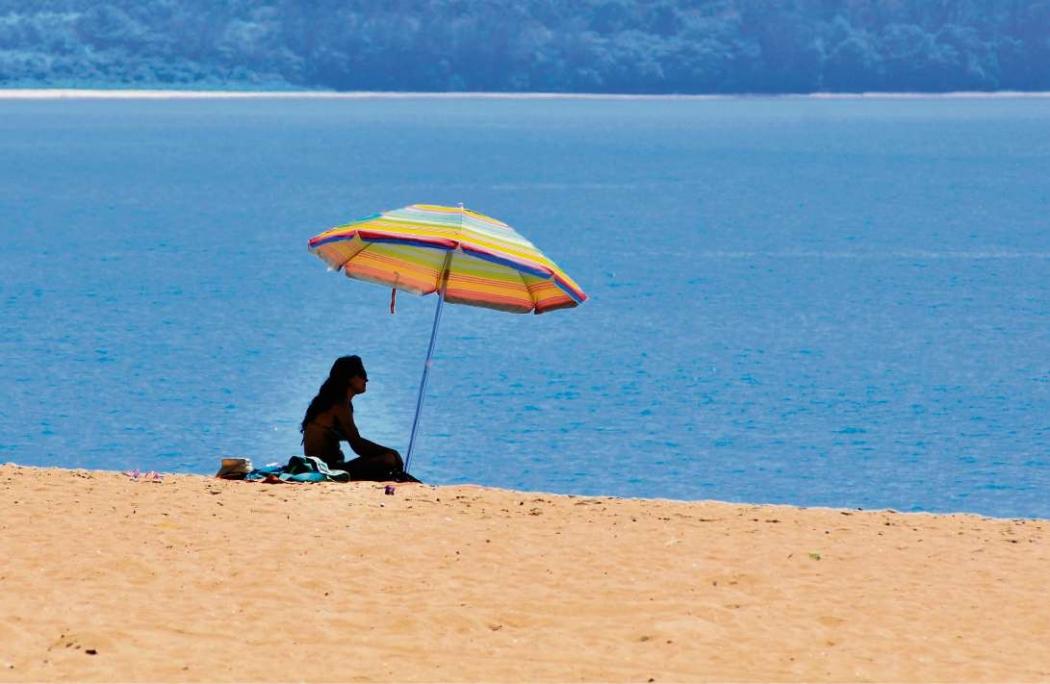 Este é o janeiro mais quente desde 1993, aponta o Instituto Climatempo. Crédito: Fernando Madeira | Arquivo | GZ