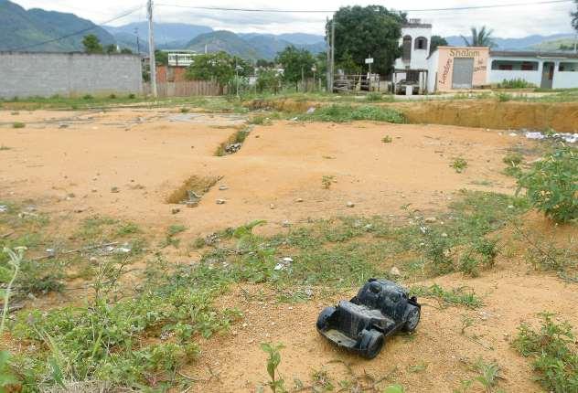Terreno no bairro Prolar, em Cariacica. Crédito: Fabio Vicentini | Arquivo | GZ