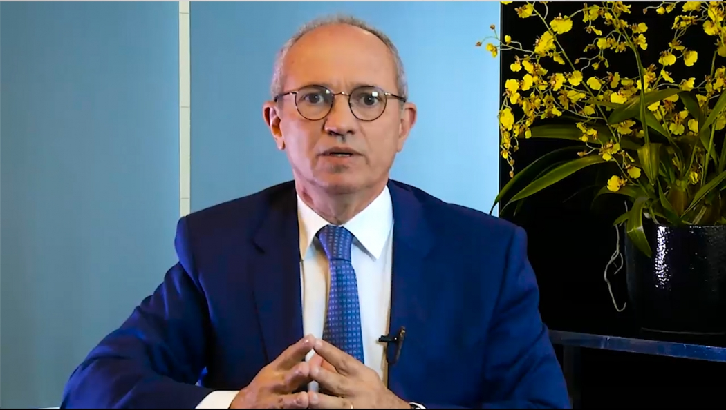 Paulo Hartung declara apoio a Geraldo Alckmin. Crédito: Reprodução