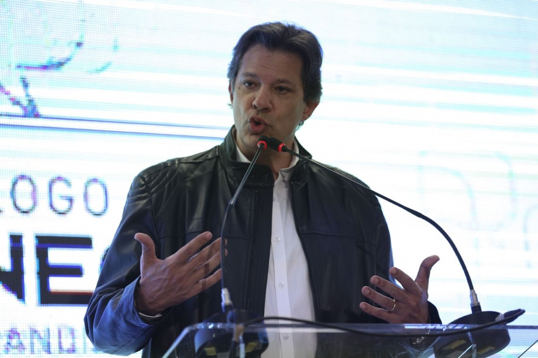 Fernando Haddad (PT), candidato à Presidência da República. Crédito: José Cruz | Agência Brasil