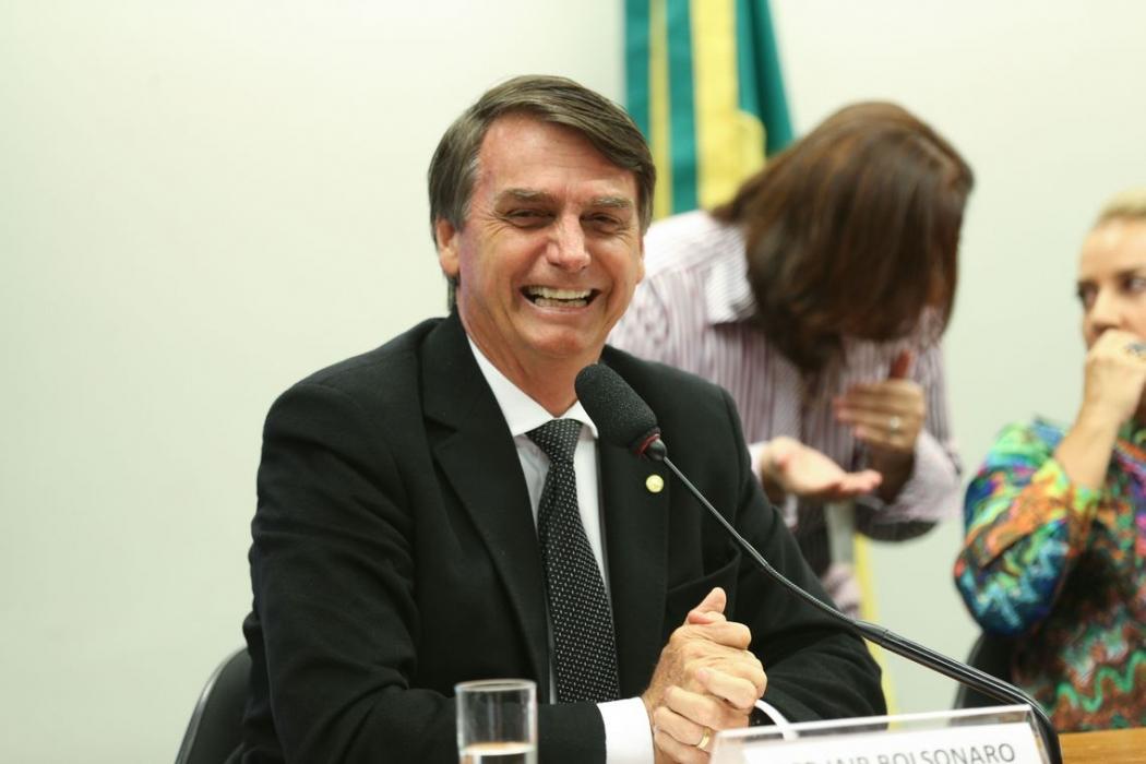 Jair Bolsonaro (PSL), candidato à Presidência da República . Crédito: Fabio Rodrigues Pozzebom | Agência Brasil