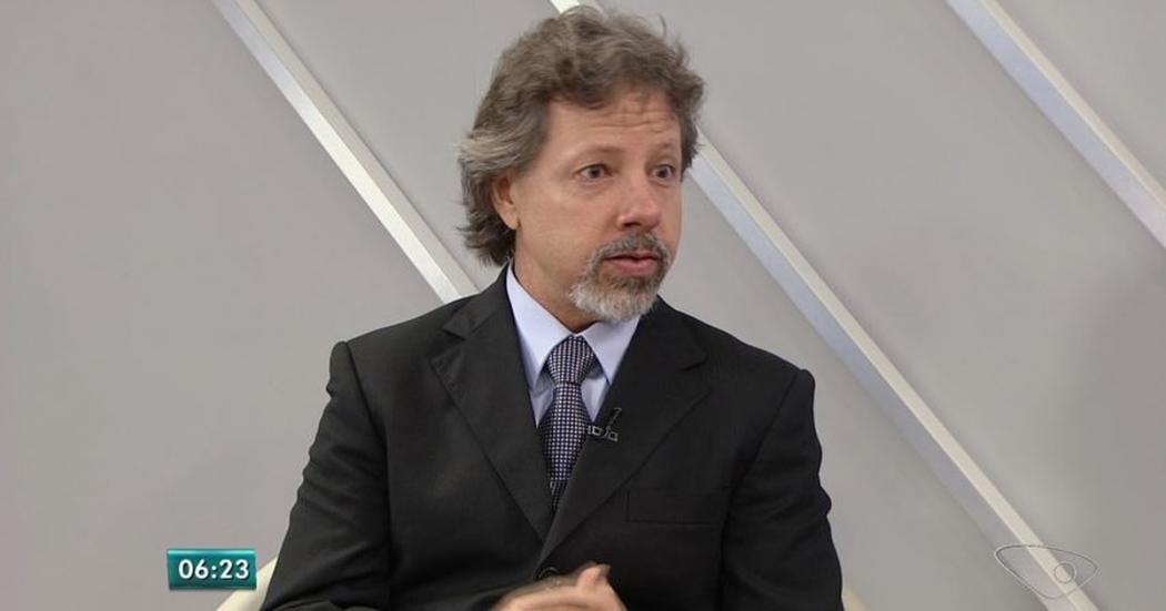 Aridelmo anunciou apoio a Jair Bolsonaro durante debate com os candidatos a governador na TV Gazeta. Crédito: G1