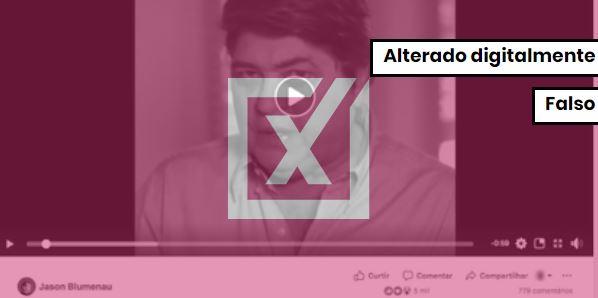 Datena não gravou vídeo em apoio a Bolsonaro . Crédito: Reprodução