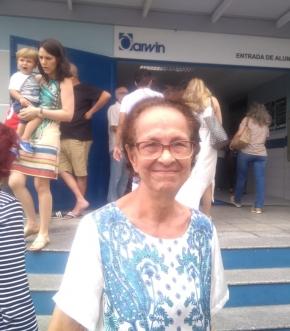 A aposentada Margarida Gonçalves, de 83 anos, votou em Vitória e falou sobre sobre a importância de votar