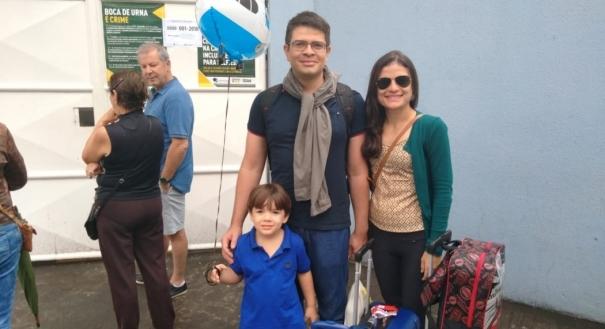 Igor de Paula, que mora no Rio Grande do Norte, vai votar em trânsito.