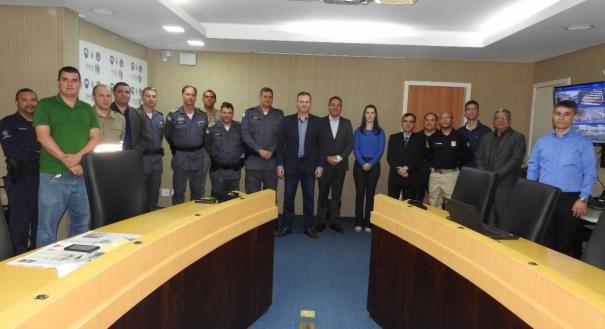 Cúpula de segurança do Espírito Santo que atua no monitorando das Eleições 2018