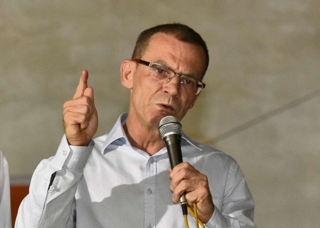 Senador capixaba Fabiano Contarato . Crédito: Fernando Madeira